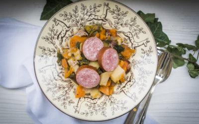 Gemüseeintopf mit Saucisson