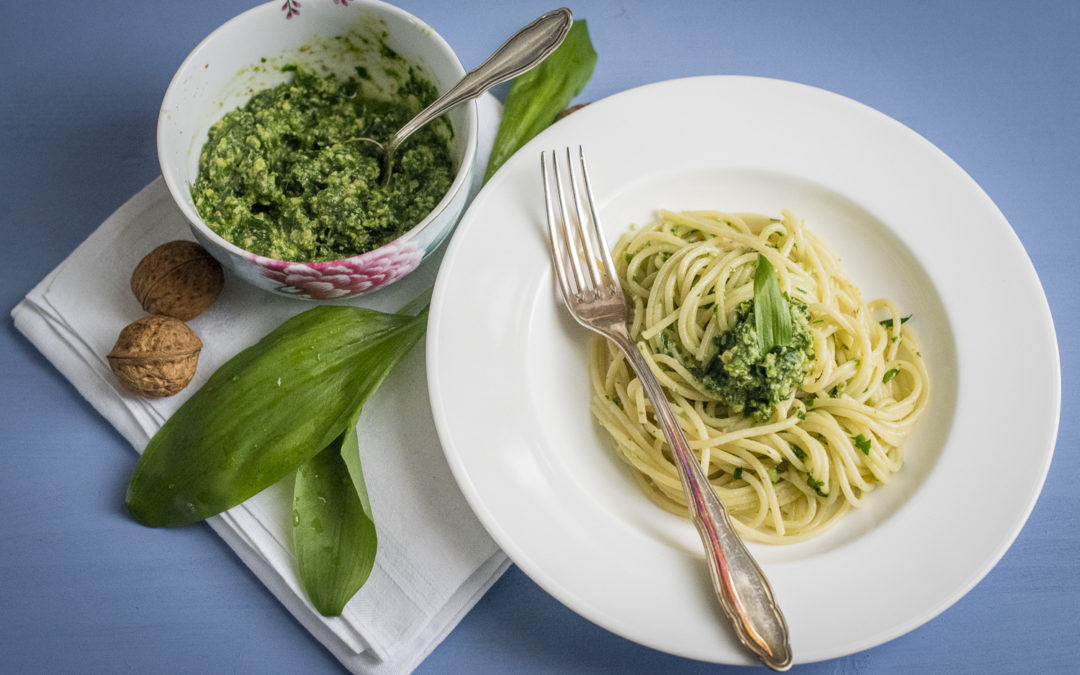 Bärlauch-Walnuss-Pesto