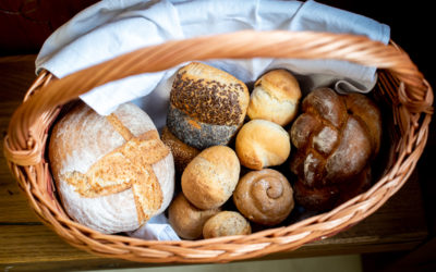 Brotbacken mit der Familie